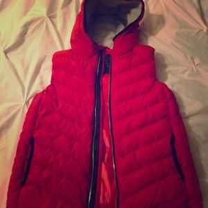 Bright Red Gap Vest. Never Worn!
